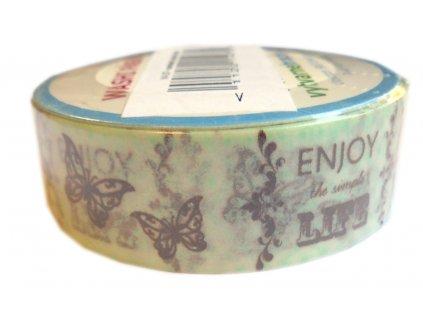 Lepící páska dekorační ENJOY