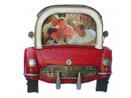 Rámeček Fun Frame - RETRO AUTO červené 10x15cm
