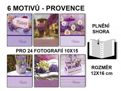 Fotoalbum 10x15/24 PROVENCE MIX