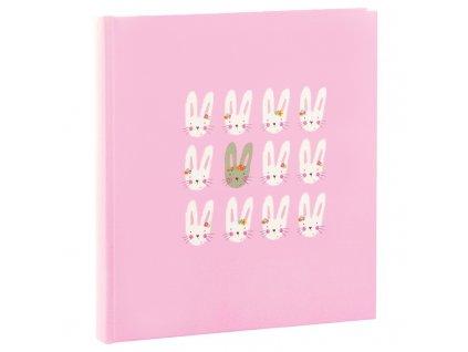 goldbuch babyalbum cute bunnies pink 15039 60 weisse seiten und 4 seiten textvorspann