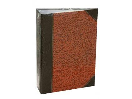 Ochranný obal pro CD/DVD 72 DVD ŠANON hnědý