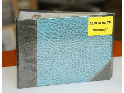 Ochranný obal pro CD/DVD 36 DVD ŠANON modrý