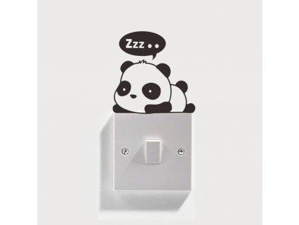 samolepky na vypinac panda 2