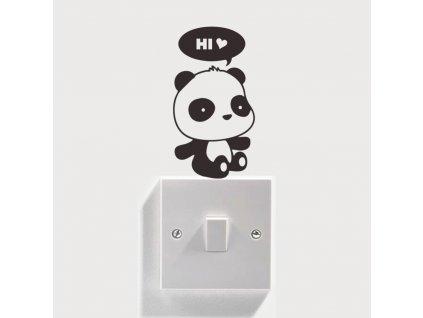 samolepky na vypinac panda 5