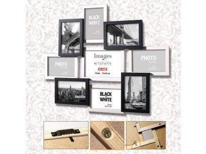 Galerie na více fotografií 91 bílá/černá, 9 foto