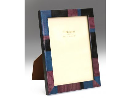 Fotorámeček dřevěný intarzový 10X15 BLU-V-N