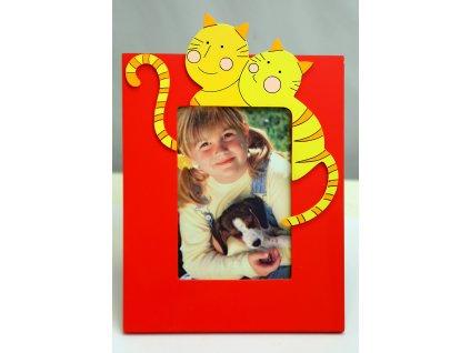 Fotorámeček dětský 10x15cm - kočičky
