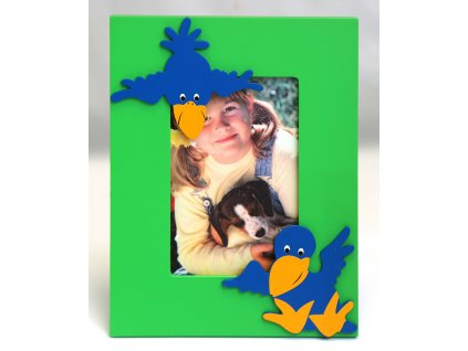 Fotorámeček dětský 10x15cm - vrány