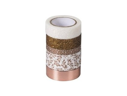 heyda deco tape mix rose gold 203584521