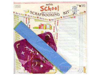 Papírové výseky SCRAPBOOKING škola