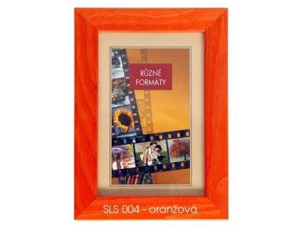Fotorámeček 24x30 dřevěný CODEX - SLS 04 oranžový