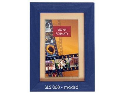 Fotorámeček 24x30 dřevěný CODEX - SLS 08 modrý