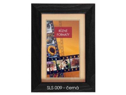 Fotorámeček 24x30 dřevěný CODEX - SLS 09 černý
