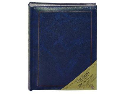 Fotoalbum 10X15/200 MEMO - CLASSIC šité modré