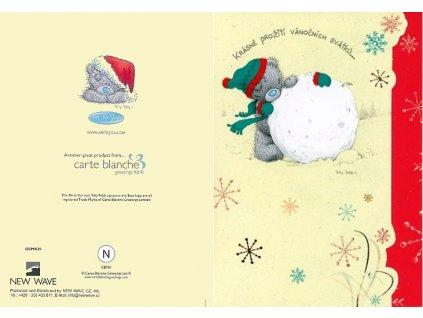 Blahopřání Me to You vánoční - Krásné prožití svátků