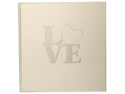 Fotoalbum na růžky 60 stran - WHITE LOVE