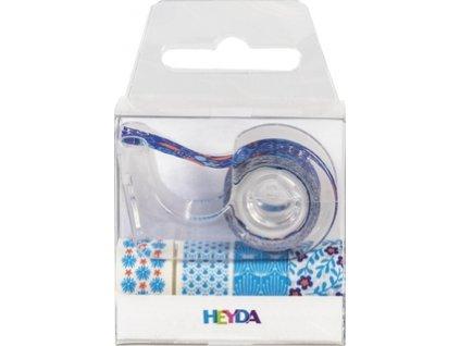 Lepící páska dekorační  - klučičí modré