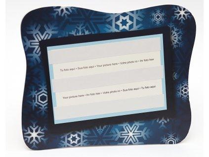 Fotorámeček 10x15 PVC s vánočním potiskem šířka 07
