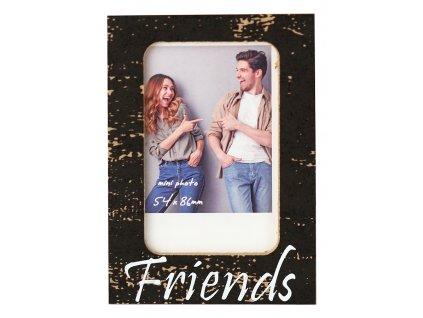 Fotorámeček 7,5x11 cm akrylový - INSTAX FRIENDS