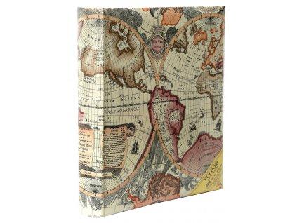 Fotoalbum 10x15/600 MAPS růžové