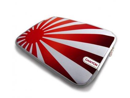 canyon skin na notebooky do 10 rising sun edition bilo cerveny ien131044
