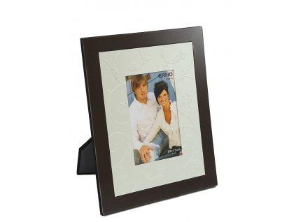 Fotorámeček 10x15 cm kovový - Větvičky