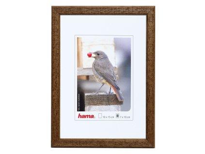 Fotorámeček dřevěný 10x15 TRAVELLER II- hnědý
