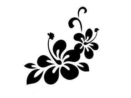 Samolepka na auto květy růže (9) a