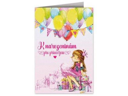 Přání k narozeninám Princezna B