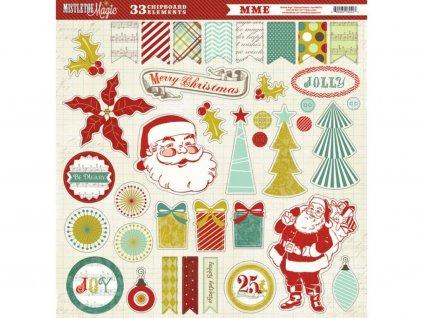 36230 1 mistletoe magic stickers 12 12