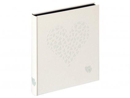 Svatební fotoalbum na růžky 50 stran - Walther Just fot Love Bílé
