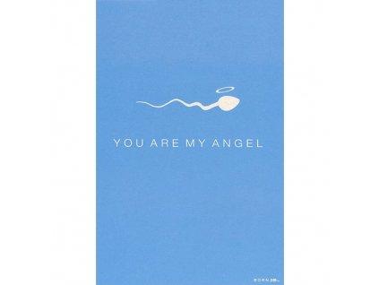 Vtipné blahopřání Born 2B - YOU ARE MY ANGEL