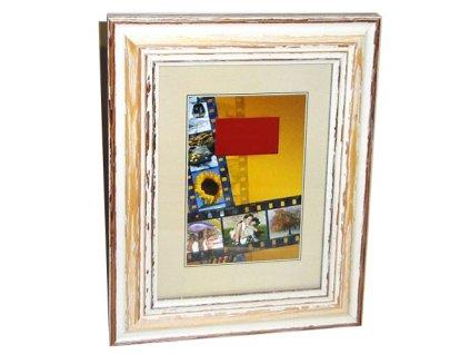 Fotorámeček 13x18 DRZ D3 hnědý