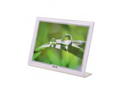 Akrylový fotorámeček KARPEX 15x10cm šířka