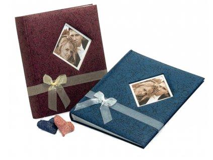 Fotoalbum na růžky 29x32cm 60 stran - KPH bleeding heart modré