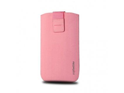 Pouzdro na mobil ,Redpoint Velvet, RŮŽOVÉ XL