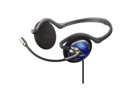 Sluchátka PC Neckband Headset CS-498, skládací , Hama