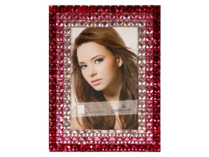 Fotorámeček 10x15 - GOLDBUCH Cristal červený