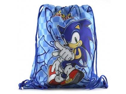 Sportovní vak Sonic Modré kostky