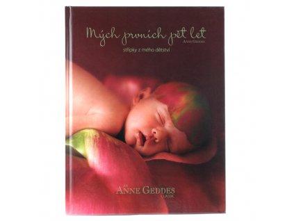 Kniha Mých Prvních Pět Let Růže
