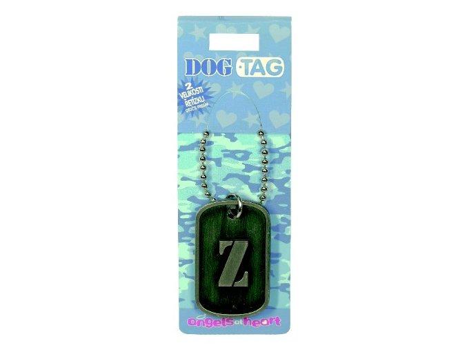 Dog Tag / psí známky písmeno - Z