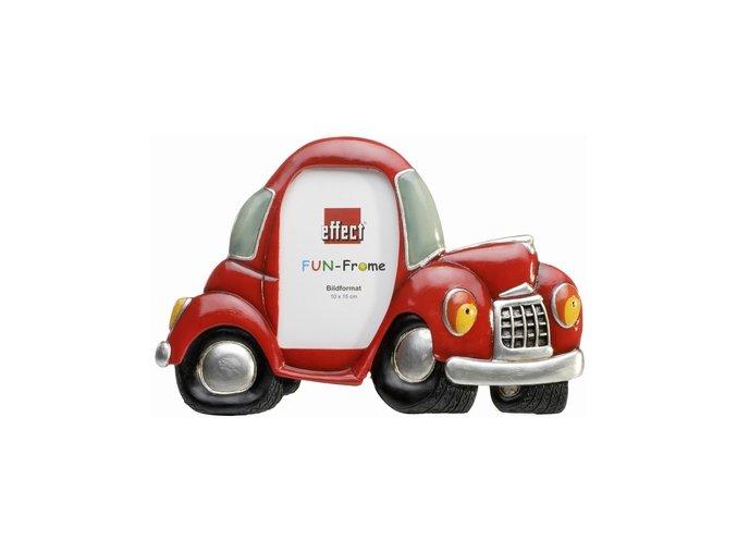 Rámeček Fun Frame - Červené auto 10x15cm