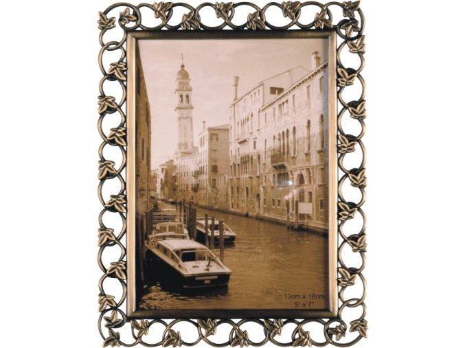 Fotorámeček mosazný 10x15cm - Gedeon BRASS