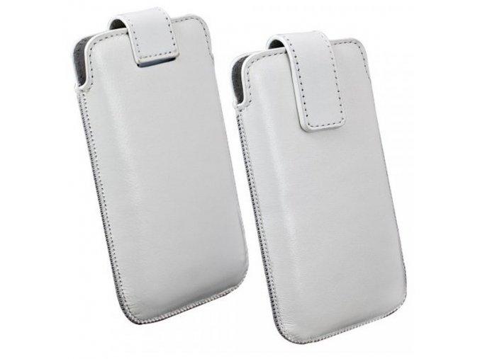 Pouzdro na mobil, OZBO Cora, bílé, velikost XL