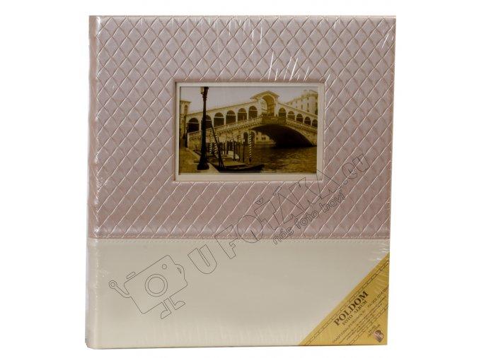 Fotoalbum na růžky svatební 29X33 cm 60 stran Poldom zola