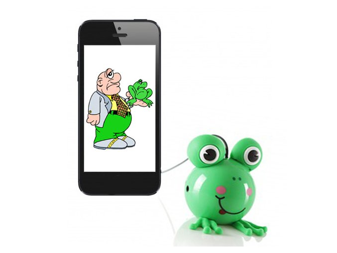 Reproduktor pro mobil Buddy Frog