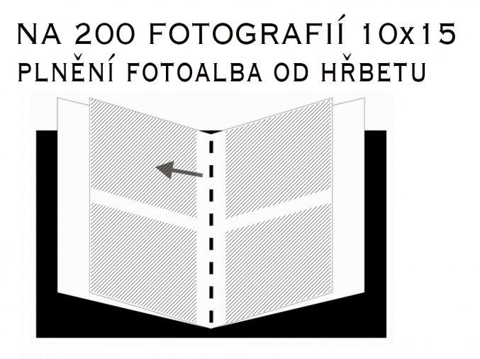Fotoalbum 10X15/200 - Hama birmingham Slip-In hnědý
