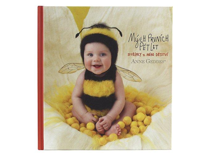 Kniha Mých Prvních Pět Let  Anne Geddes  Včelka