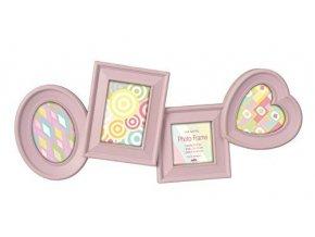 Dětský fotorámeček na více fotek Lilac - 4 fotografie