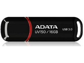 auv150 16g rbk a data uv150 16gb usb30 stick black 03.4